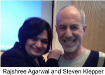 Rajshree and Steven